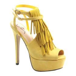 Women's Luichiny Look Ahead Yellow Imi Suede