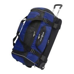 Pacific Gear 30in Drop-bottom Nylon Rolling Duffel Bag Blue