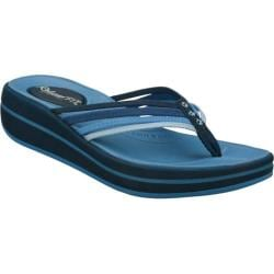 Women's Skechers Relaxed Fit Upgrades Caption Navy/Blue