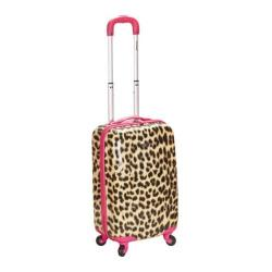 Rockland Camouflage 20-inch Lightweight Hardside Spinner Carry-on Upright Luggage