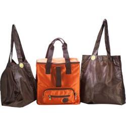 Sacs of Life InSOLator 3 Bag Set Burnt Orange