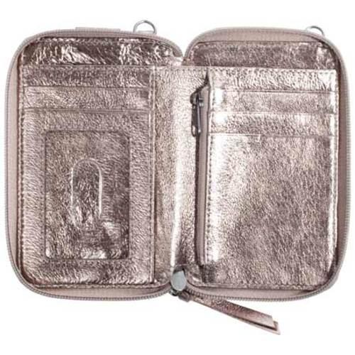 Women's THE SAK Iris Smartphone Wristlet Pyrite Metallic