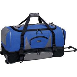 TPRC 30in 2-Section Drop Bottom Rolling Duffel Navy/Black