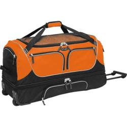 TPRC 30in Parkour 2-Section Drop Bottom Rolling Duffel Orange