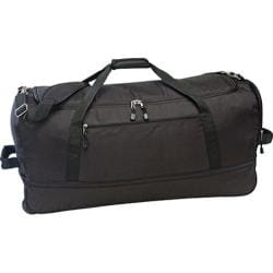 US Traveler Ultra-Lightweight 30in Expandable Top Load Wheeled Black