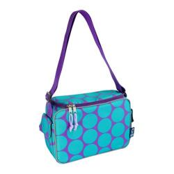 Wildkin Lunch Cooler Big Dots Aqua