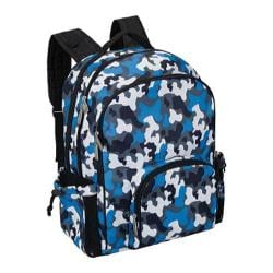 Wildkin Blue Camo Macropak Backpack