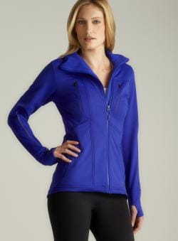 Mpg Zippered Performance Jacket