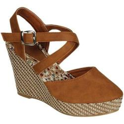 Women's Beston Echo-05 Camel Canvas Fabric