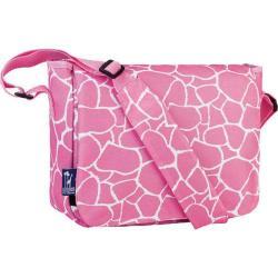 Girls' Wildkin Kickstart Messenger Bag Pink Giraffe