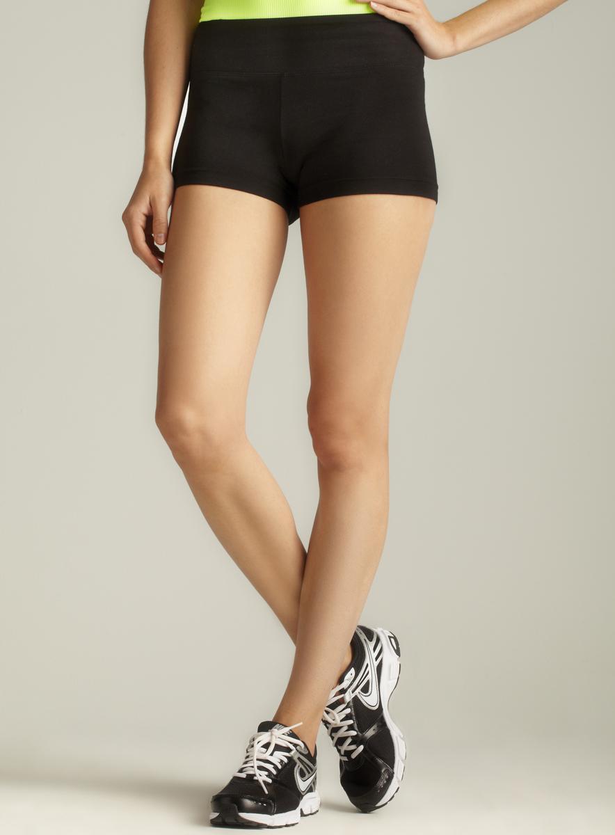 Marika Banded Flat Waist Shorts