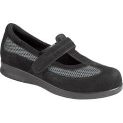 Women's Drew Desiree Black Nubuck/Dark Grey Mesh