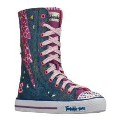 Girls' Skechers Twinkle Toes Shuffles Hot Shot Multi