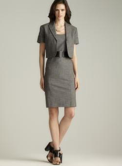 Tahari Belted Dress Suit