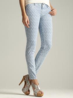 Vigoss Circle Print Skinny Jean