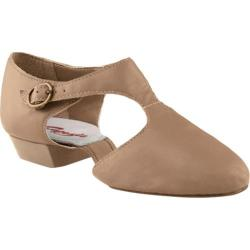 Women's Capezio Dance Pedini 321 Tan