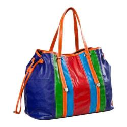 Women's Sydney Love Head Over Heels Striped Drawsting Tote Head Over Heels