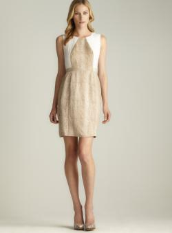 Calvin Klein Snake Printed Shift Dress