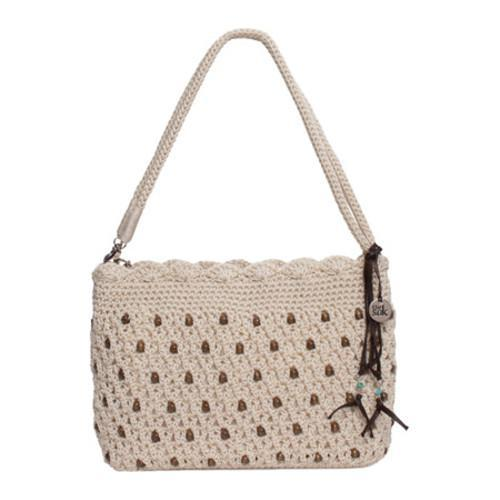 Women's THE SAK Classic Mini 3-In-1 Clutch Natural/Beads