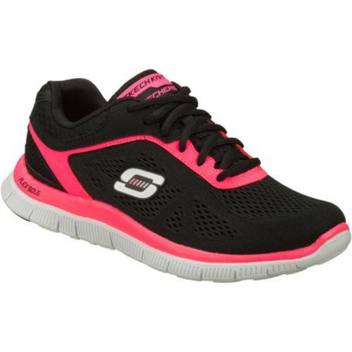 Women's Skechers Flex Appeal Love Your Style Black/Pink