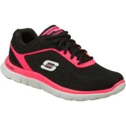 Women's Skechers Flex Appeal Love Your Style Black/Pink