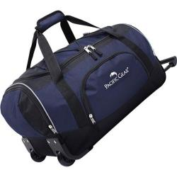 Traveler's Choice 21in Carry-On Rolling Duffel Bag Navy