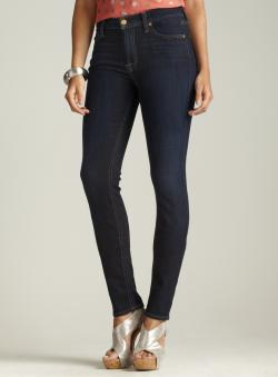 7 For All Mankind Mid Rise Roxanne Skinny Jeans