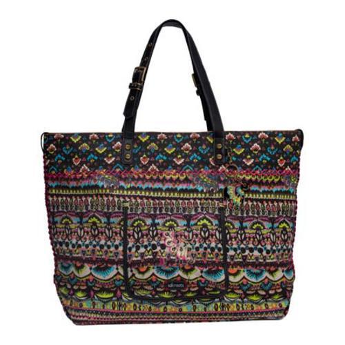 Women's Sakroots Artist Circle Travel Bag Neon One World