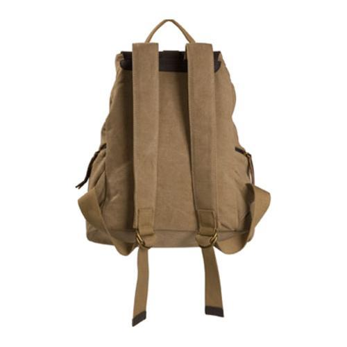 Women's Laurex Vintage Design Backpack 3220 Khaki