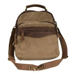 Women's Laurex Convertible Design Backpack Khaki