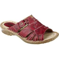 Women's Earth Willow Regal Red Rhino Leather
