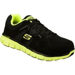 Men's Skechers Work Synergy Sure Gripper SR Black/Green