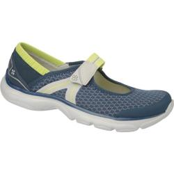 Women's Naturalizer Bzees Boardwalk Insignia Blue Mesh/Wild Lime Elastic