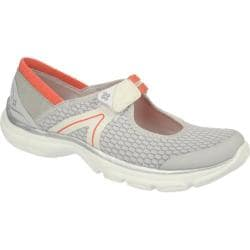 Women's Naturalizer Bzees Boardwalk Lunar Rock Mesh/Hot Coral Elastic