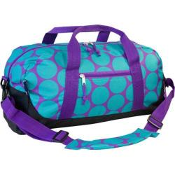 Wildkin Big Dots Aqua Kids' Duffel Bag