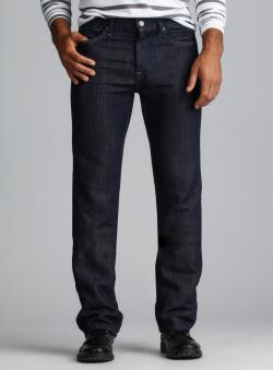 7 For All Mankind Standard Straight Leg Denim Jeans