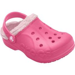 Children's Crocs Baya Fleece Clog Hot Pink/Petal Pink