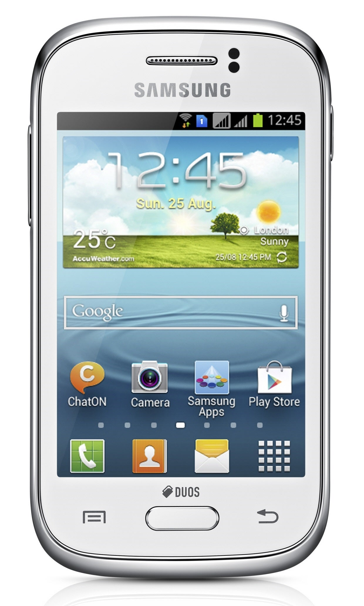 Samsung Galaxy Young S6310 GSM Unlocked Android Phone - White