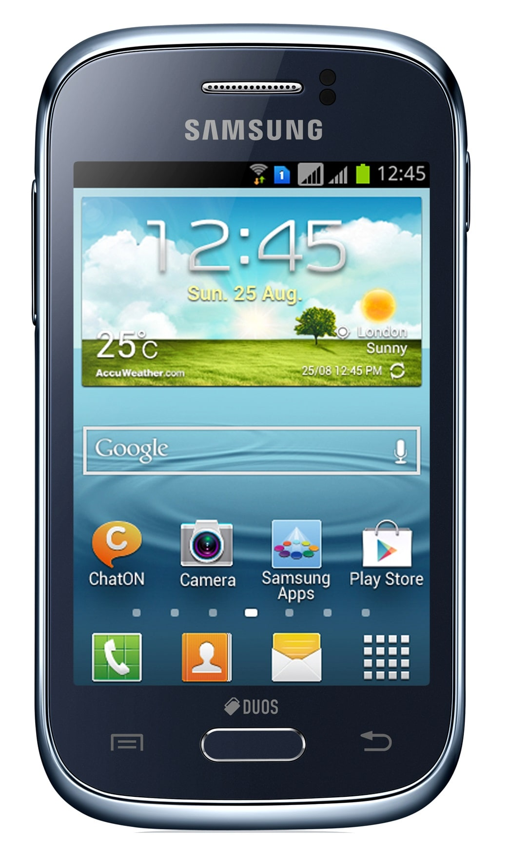 Samsung Galaxy Young S6310 GSM Unlocked Android Phone - Blue