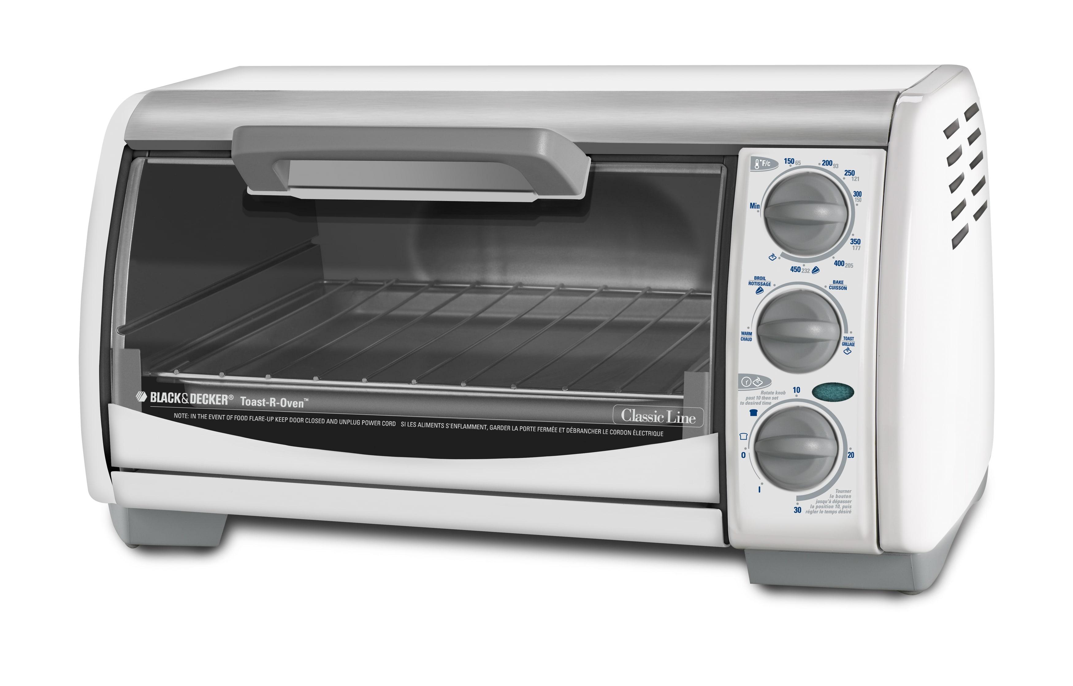 Countertop Oven Black And Decker : Black & Decker TRO490W Toast-R-Oven Classic 4-slice Countertop Oven ...