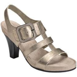 Women's Aerosoles Heartland Dark Silver Leather