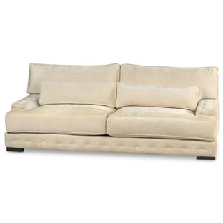 JAR Designs 'Gatsby' Ivory Sofa