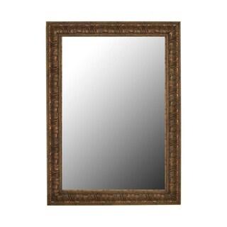Classic Reflections Light Bronze Gold Mirror