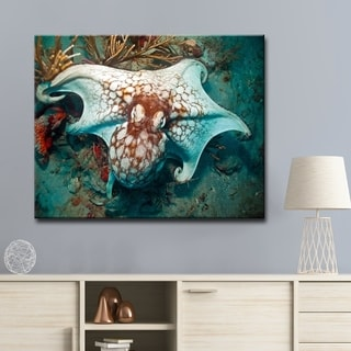 Chris Doherty 'Octopus' Canvas Wall Art