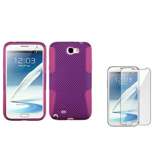 BasAcc Astronoot Case/ LCD Protector for Samsung Galaxy Note II N7100