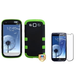 INSTEN TUFF Phone Case Cover/ Screen Protector for Samsung Galaxy S3/ S III