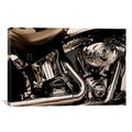 Harley Motorcycle' Canvas Print Wall Art