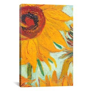 Unknown 'Twelve Sunflowers by Vincent Van Gogh' Canvas Print Wall Art