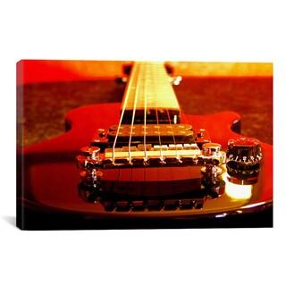 'Electric Guitar' Giclee Canvas Art Print