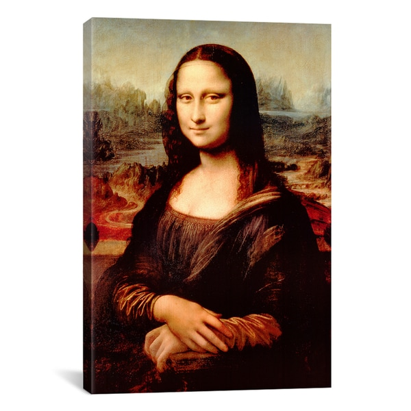Mona Lisa by Leonardo Da Vinci Canvas Print Wall Art